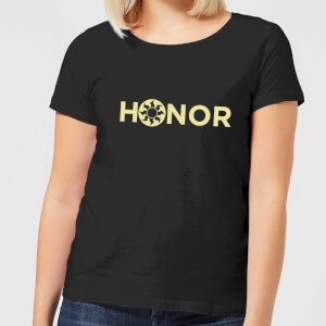 T-Shirt Femme Honor - Magic : The Gathering - Noir