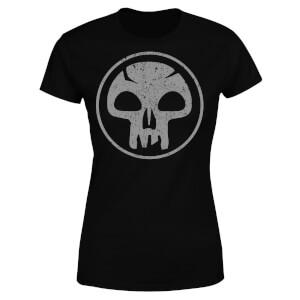 Camiseta Magic The Gathering Maná Negro - Mujer - Negro