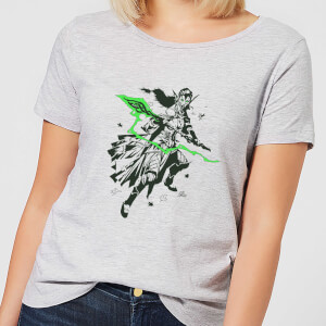 Magic The Gathering Nissa Character Art Women's T-Shirt - Grey