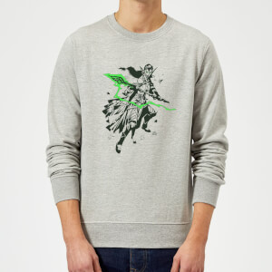 Sweat Homme Nissa Design - Magic : The Gathering - Gris