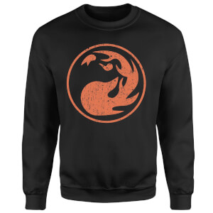 Magic The Gathering Mana Red Sweatshirt - Black