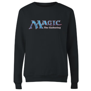 Magic The Gathering 93 Vintage Logo Women's Sweatshirt - Black