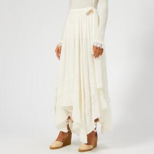 Zimmermann Women's Unbridled Hanky Skirt - Pearl