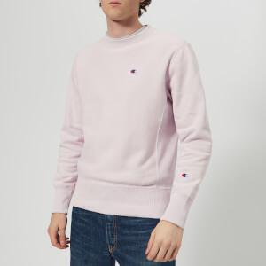 Champion Men's Crew Neck Sweatshirt - Lavender: Image 1