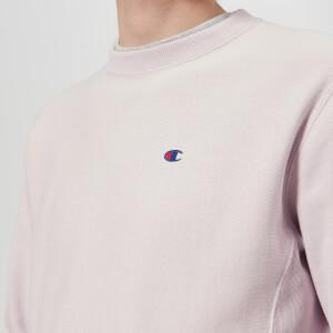 Champion Men's Crew Neck Sweatshirt - Lavender: Image 4