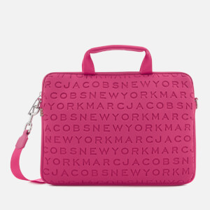 Marc Jacobs Women's 13 Inch Commuter Laptop Case - Punch Pink
