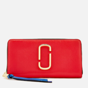 Marc Jacobs Women's Snapshot Continental Wallet - Poppy Red