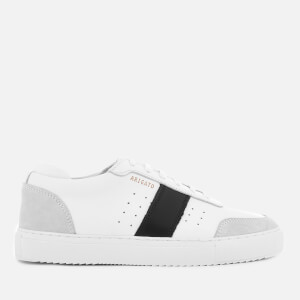 Axel Arigato Women's Dunk Leather Trainers - White/Black