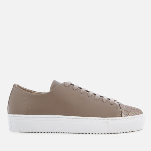 Axel Arigato Women's Cap Toe Leather Trainers - Taupe