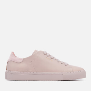 Axel Arigato Women's Clean 90 Leather Trainers - Pale Lilac