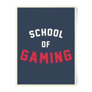 School Of Gaming Art Print