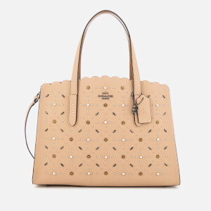 Coach Women's Charlie Prairie Rivets Carryall Bag - Beechwood