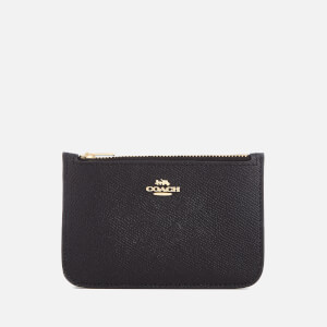 Coach Women's Zip Card Case - Black