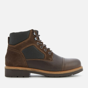 Tommy Hilfiger Men's Active Leather Lace-Up Boots - Coffee Bean