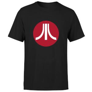 Atari Circle Logo Men's T-Shirt - Black