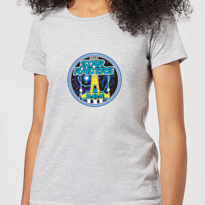 Atari Star Raiders Dames T-shirt - Grijs