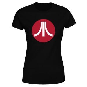 Atari Circle Logo Women's T-Shirt - Black