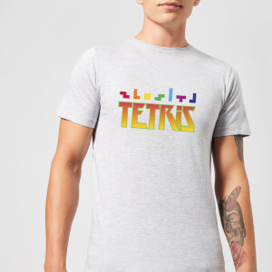 Tetris Multi Blocks Men's T-Shirt - Grey