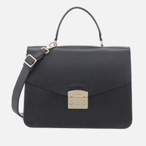 Furla Women's Metropolis Medium Top Handle Bag - Black