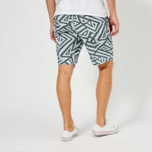 Superdry Men's Sunscorched Shorts - Geo Chambray: Image 2