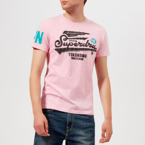 Superdry Men's High Flyers T-Shirt - Pastel Pink Marl