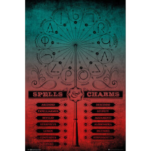 Harry Potter Spells and Charms Maxi Poster 61 x 91.5cm