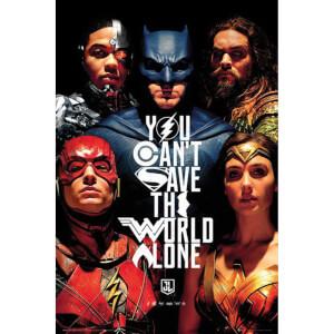 DC Comics Justice League Faces Maxi Poster 61 x 91.5cm