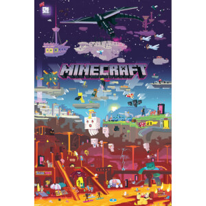 Minecraft World Beyond Maxi Poster 61 x 91.5cm
