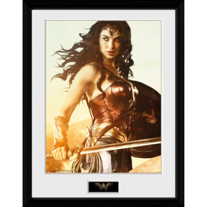 DC Comics Wonder Woman Sword 12 x 16 Inches Framed Photograph