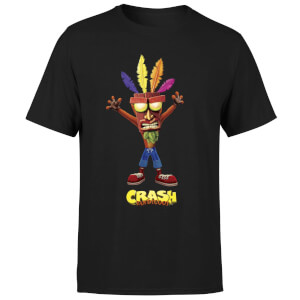 Crash Bandicoot Aku Aku T-shirt - Zwart