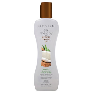 BIOSILK Silk Therapy with Coconut Oil Leave-In Treatment 5.64oz
