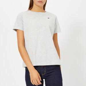 Champion Women's Short Sleeve T-Shirt - Grey Marl