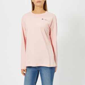 Champion Women's Long Sleeve T-Shirt - Pink