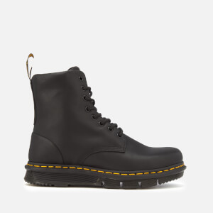 Dr. Martens Men's Lexington Cube Flex Leather 8-Eye Boots - Black