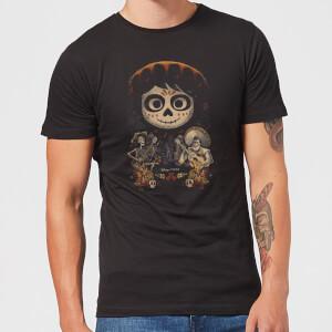 T-Shirt Homme Visage Miguel Poster Coco - Noir