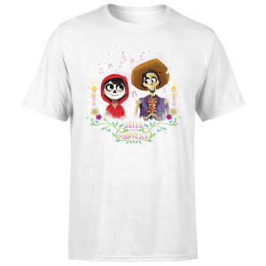 Coco Miguel And Hector Men's T-Shirt - White