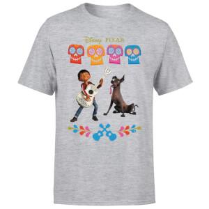 Coco Miguel Logo Men's T-Shirt - Grey