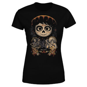 Coco Miguel Face Poster Women's T-Shirt - Black
