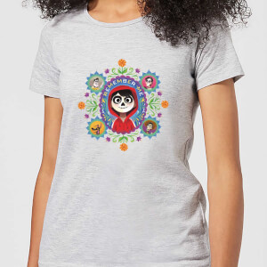 Disney Coco Remember Me Dames T-shirt - Grijs