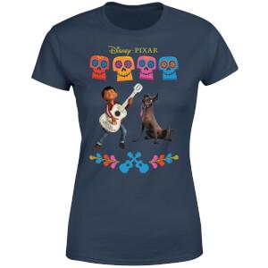 Coco Miguel Logo Women's T-Shirt - Navy