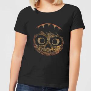 T-Shirt Femme Visage Miguel Coco - Noir