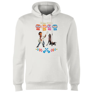 Coco Miguel Logo Hoodie - White