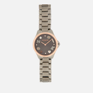 Coach Women's Modern Sport Link Watch - Gun Metal