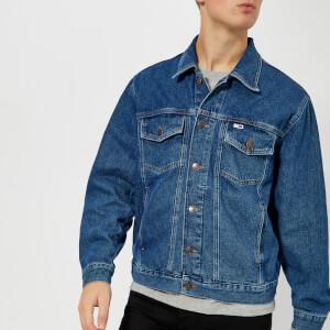 Tommy Jeans Men's Classic Denim Jacket - Mid Blue Rigid