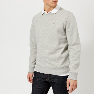 Tommy Jeans Men's Original Sweatshirt - Light Grey Heather