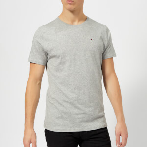Tommy Jeans Men's Original Jersey T-Shirt - Light Grey Heather