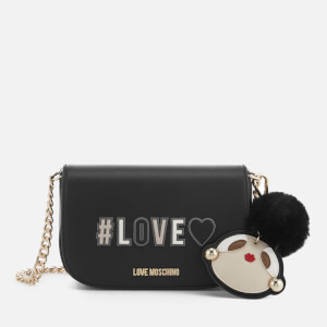 Love Moschino Women's Small Logo Bag - Black