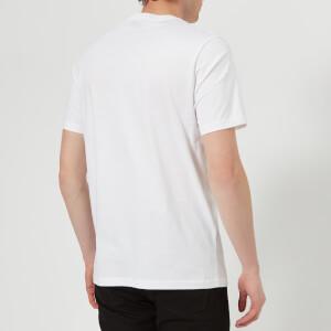 PS Paul Smith Men's Short Sleeve Skull Regular Fit T-Shirt - White: Image 2