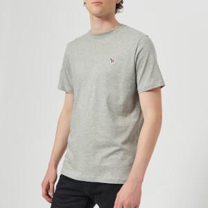PS by Paul Smith Men's Regular Fit Zebra T-Shirt - Grey Melange