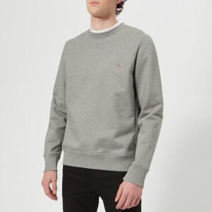 PS by Paul Smith Men's Regular Fit Zebra Sweatshirt - Grey Melange